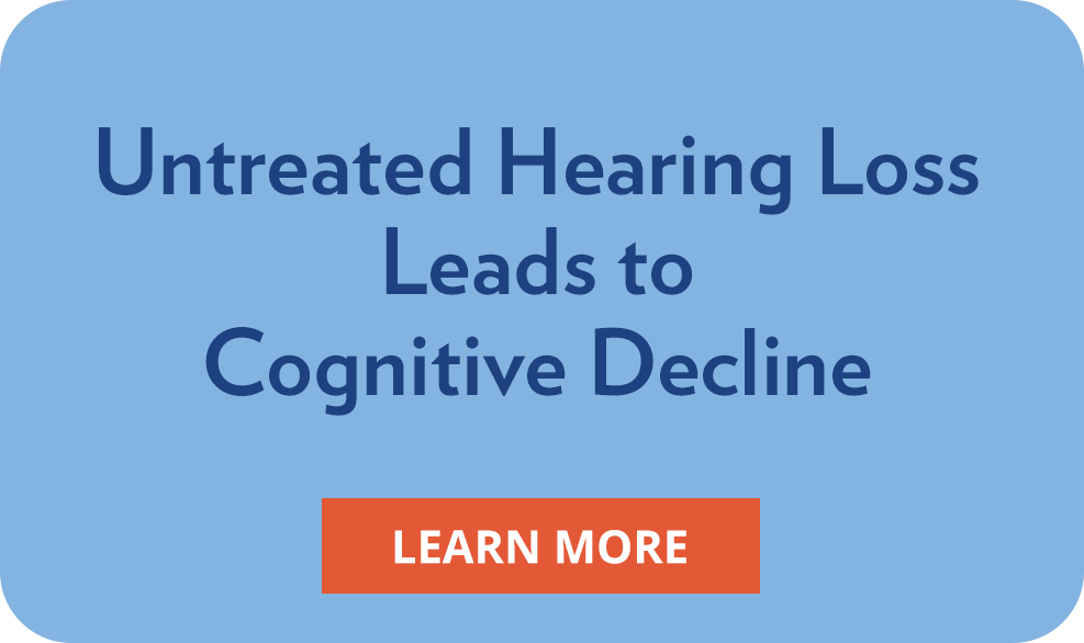 Untreated Hearing Loss Leads to Cognitive Decline