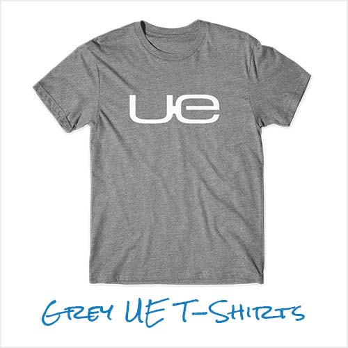 SHOP UE: Grey UE T-Shirt