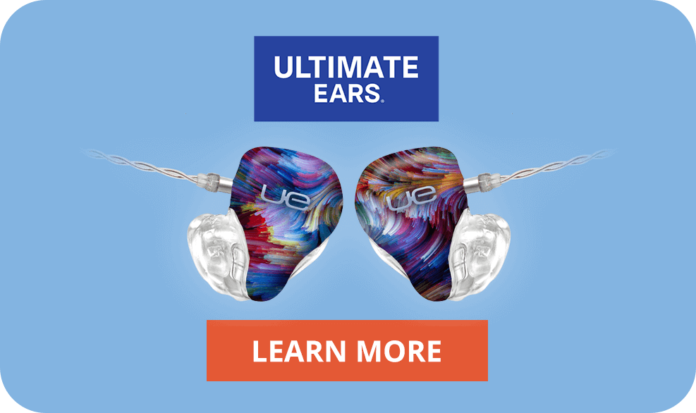 Custom Headphones. Professional Sound. Personal Fit.